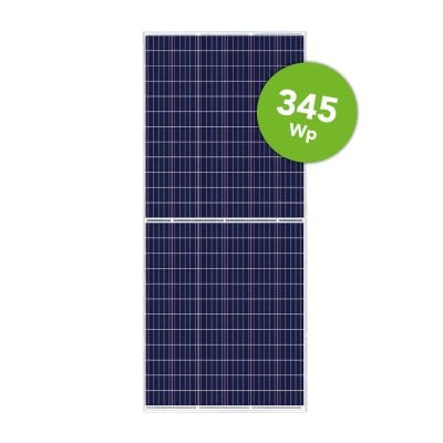 Canadian Solar 345 Wp Poly KuMax 144 Half cell