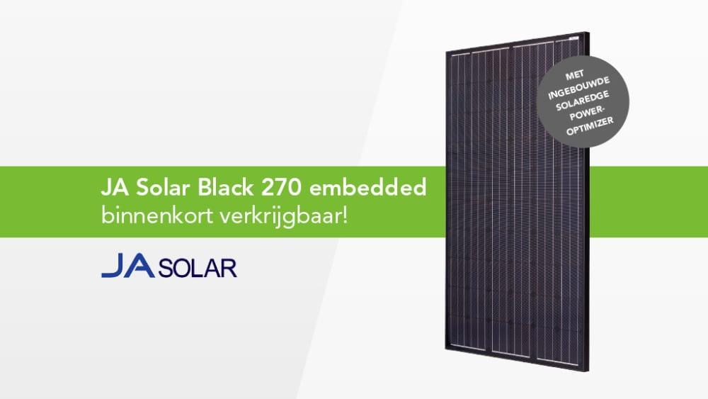 JA Solar Black 270