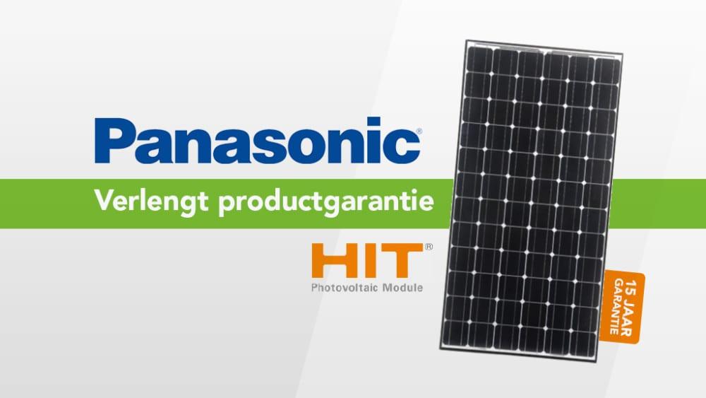 Panasonic garantie