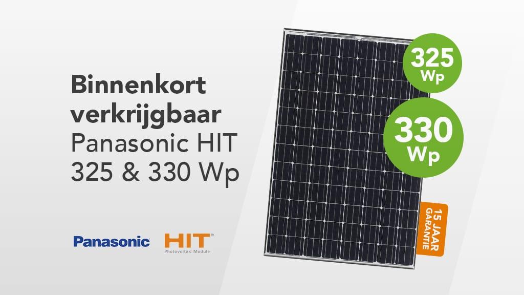 Panasonic Hit N330 Natec Groothandel Solar En Led
