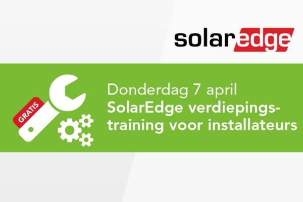 SolarEdge verdiepingstraining