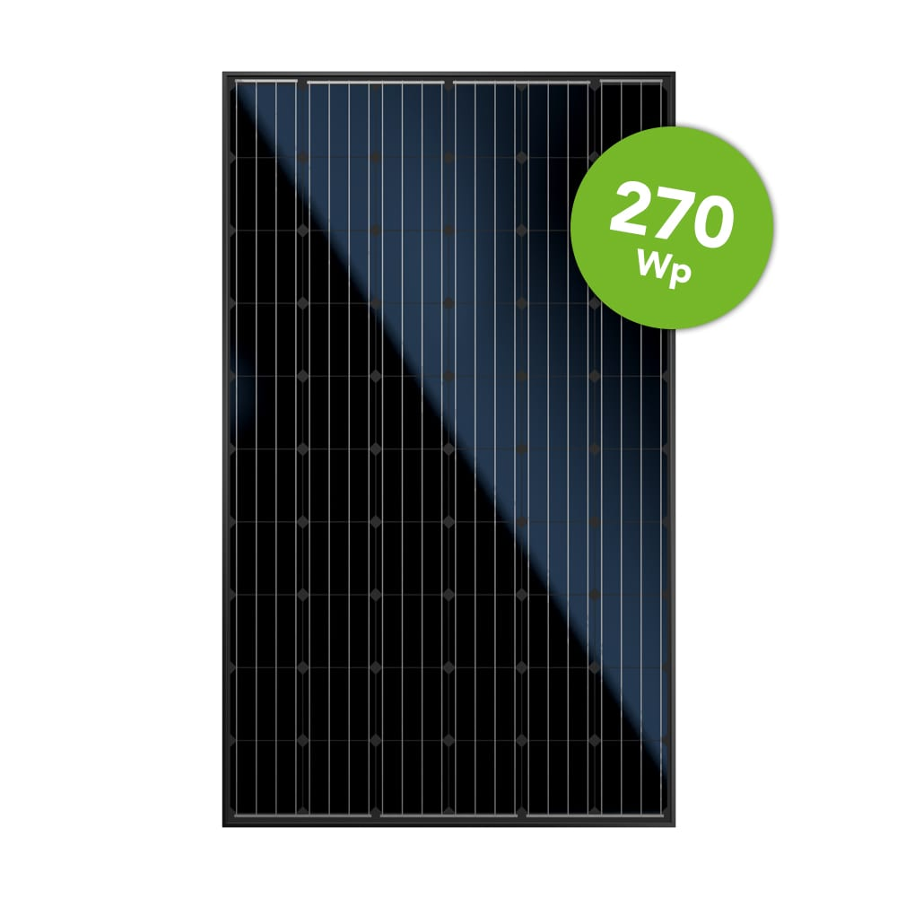 Canadian Solar 270 Full Black