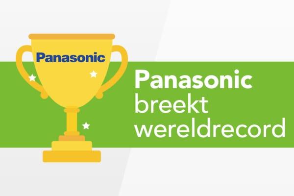 Panasonic breekt wereldrecord
