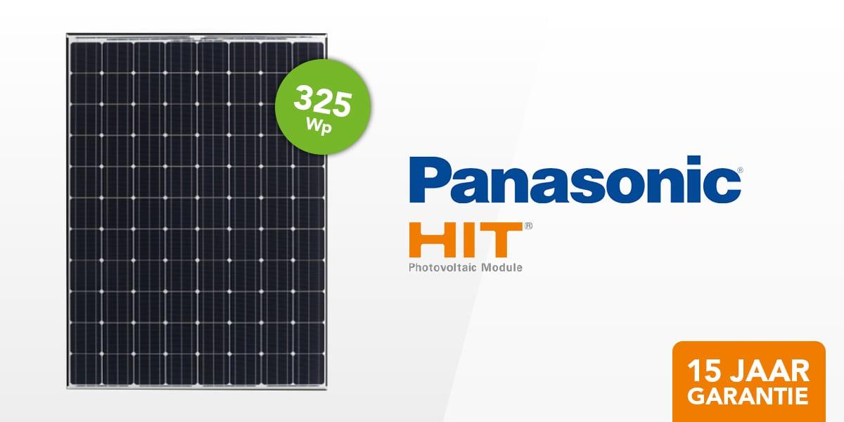 Panasonic Hit N325 Natec Groothandel Solar En Led
