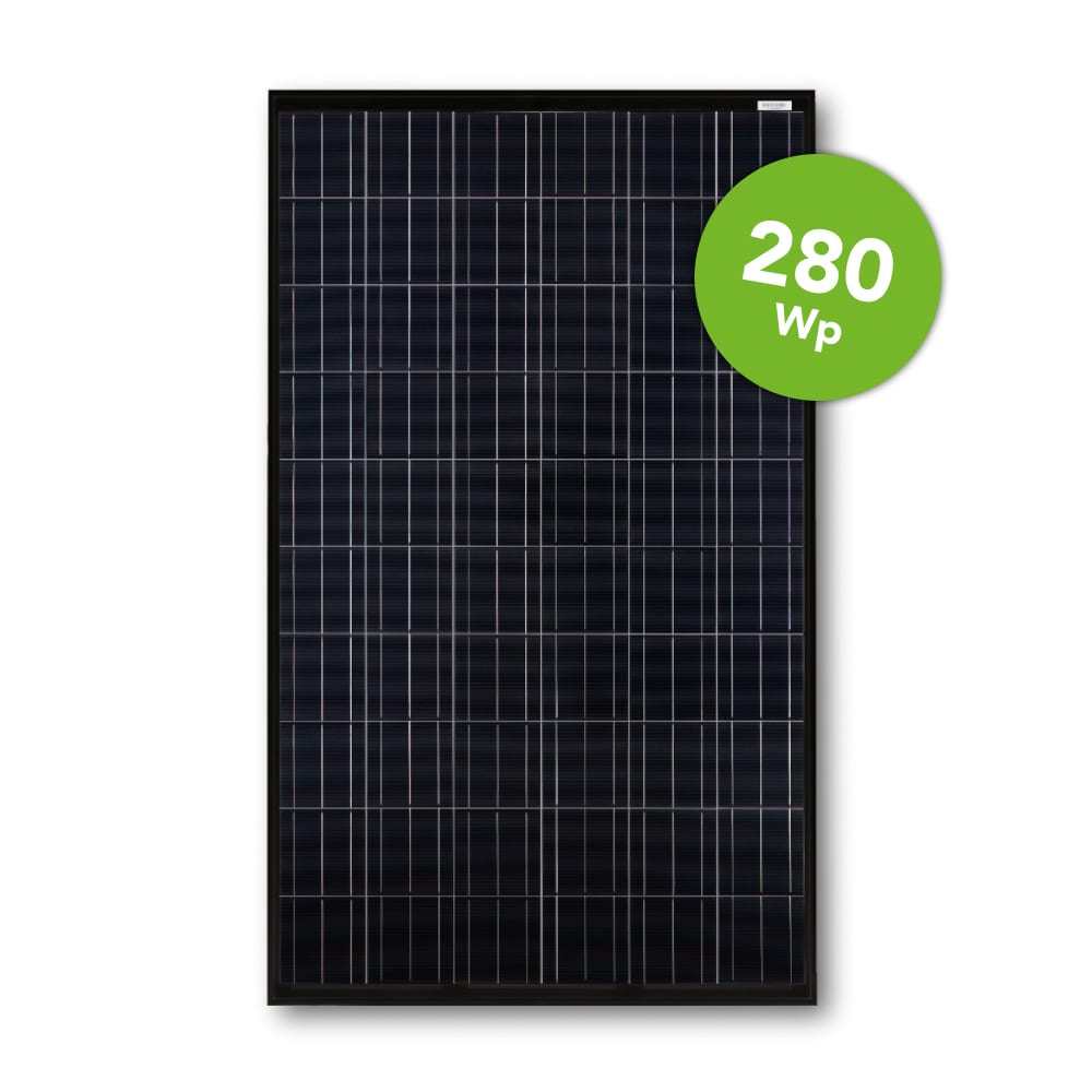 JA Solar 280 Full Black