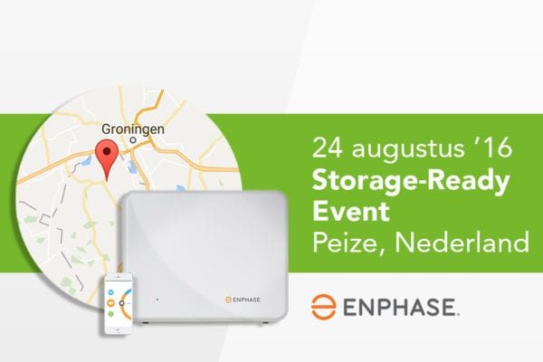 Enphase Storage-ready event