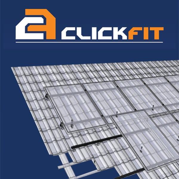 Clickfit Basic | Hellend dak