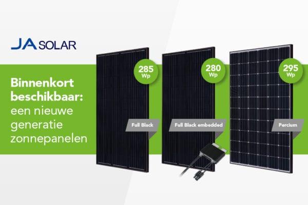 Ja Solar fors omhoog met vermogen per paneel