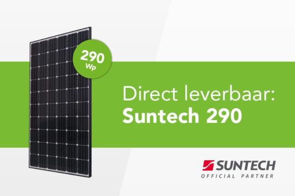 Direct leverbaar: Suntech 290 Wp