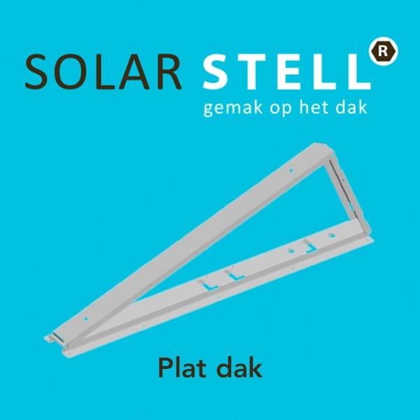 Solarstell   Plat dak