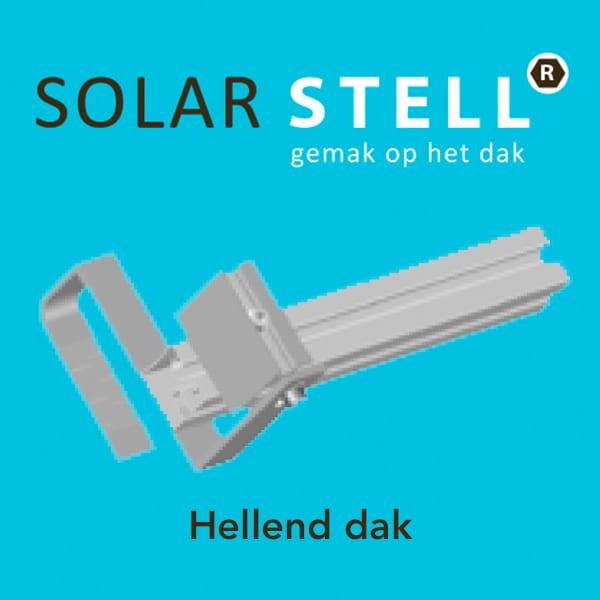 Solarstell   Hellend dak