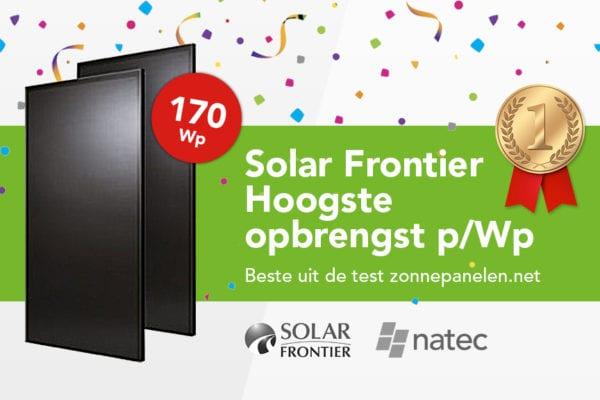 Best gestest: Solar Frontier 170 Wp