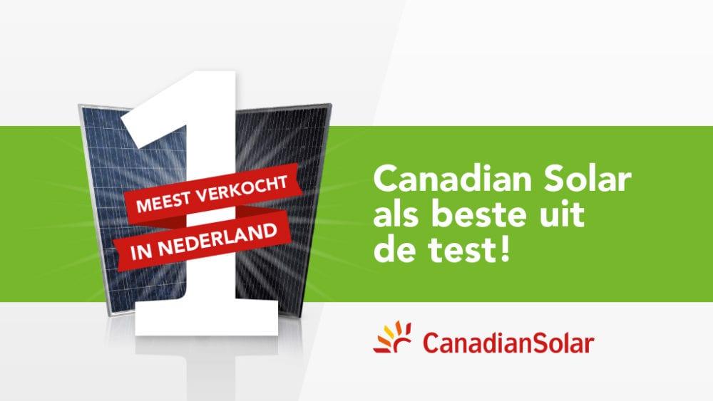 Canadian Solar: beste uit de test