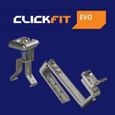 Clickfit Evo | Hellend dak