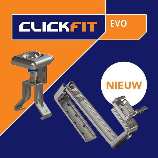 Clickfit Evo   Hellend dak