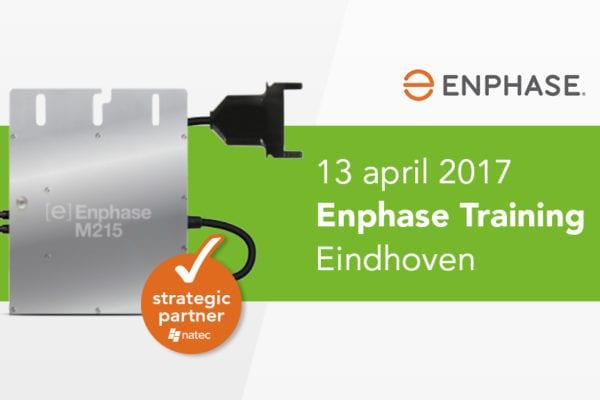 Enphase Training: 13 april Eindhoven