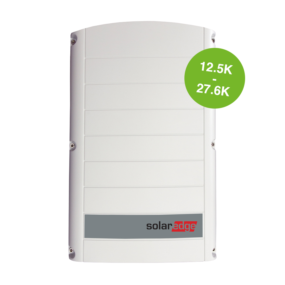 SolarEdge driefase 12.5K - 27.6K