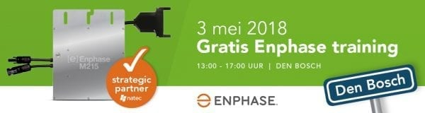 Enphase training 3 mei