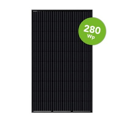 LONGi Solar 280 Wp Full Black