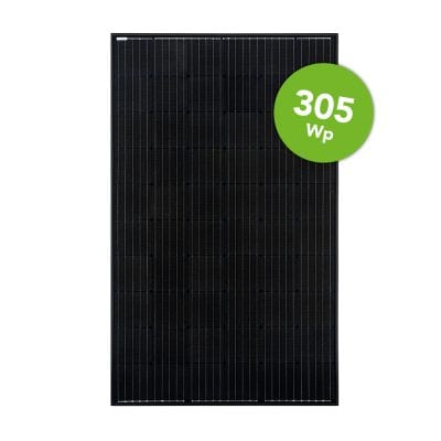 Suntech 305 Wp Full Black Half Cell