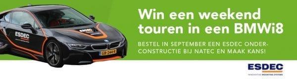 Win een weekend touren in een BMWi8