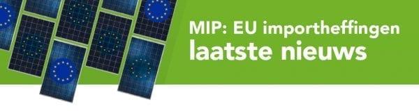 Importheffingen op zonnepanelen vervallen per 3 september 2018