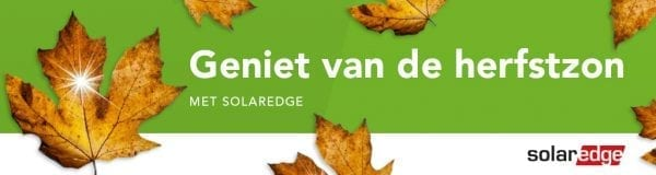 Dubbele punten sparen met SolarEdge
