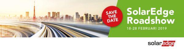 Schrijf je in voor de SolarEdge Roadshow – Februari 2019