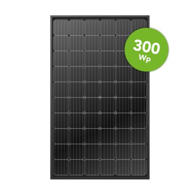 LONGi Solar 300 Wp Full Black