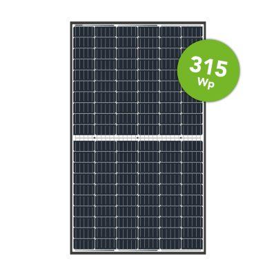 LONGi Solar 315 Wp Mono Black Frame