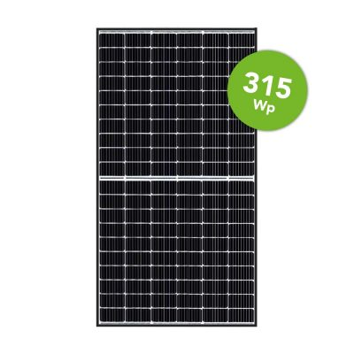 Canadian Solar 315 Mono Black Frame 120 Half cell