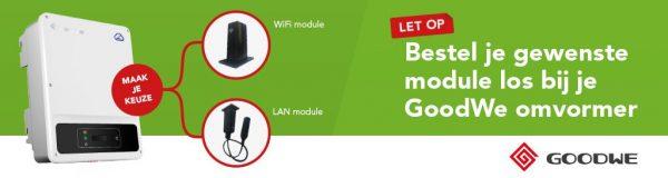 Nieuwe bestelwijze GoodWe: kies zelf voor WiFi of LAN!