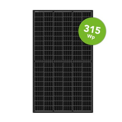 LONGi Solar 315 Wp Mono Full Black 120 Half cell