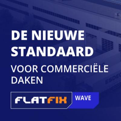 Flatfix Wave | Voor commerciële daken